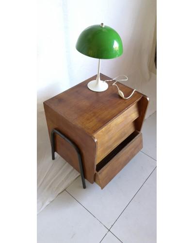 Table de chevet Bout de canapé vintage années 60