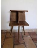 Bout de canapé Table de chevet scandinave vintage