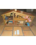Maison miniature meublée Lundby Suède NO Playmobil Vintage