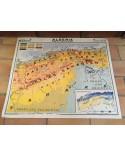 Carte Scolaire ancienne ALGERIE N°23