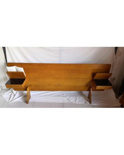 Tête de lit vintage en bois 190cm