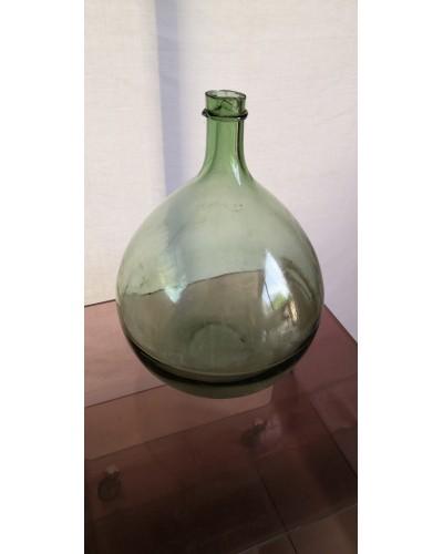 Dame Jeanne ancienne Bonbonne verre vintage Années 70